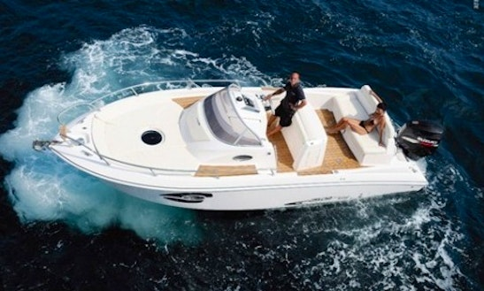 Manò Marine 24.9 Deck Boat Charter In Barcelona, Spain