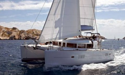 Lagoon 400 Cruising Catamaran Boat Charter in Ibiza, Spain