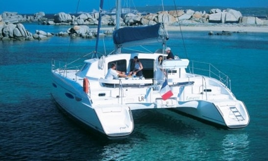 40ft Fountaine Pajot Lavezzi Cruising Catamaran Boat Charter In Ibiza, Spain