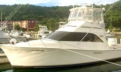 36' Ocean Yacht Fishing Charter for 6 Person in Guanacaste
