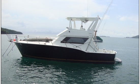 Brindisi 44 Fishing Charter in Guanacaste