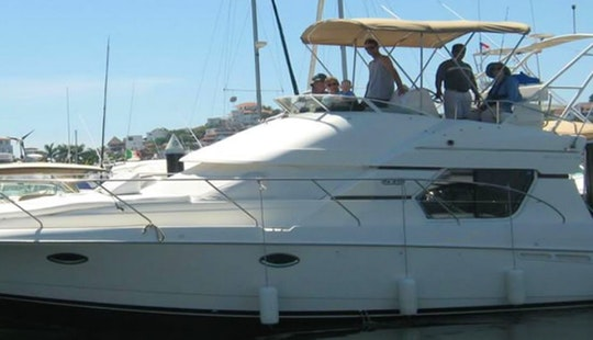 Private Ixtapa 38' Sportfishing Yacht Charter