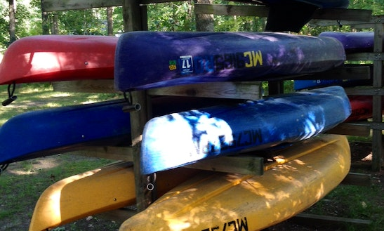 Canoe And Kayak Rentals With Enchanted Acres