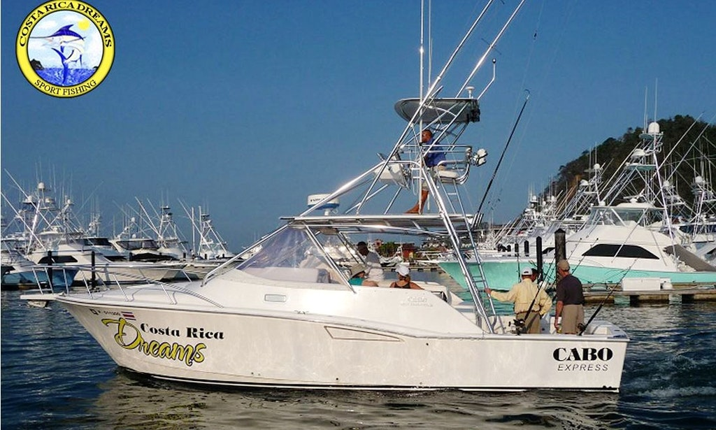 35 39 cabo express crewed fishing charter getmyboat for Cabo fishing charters