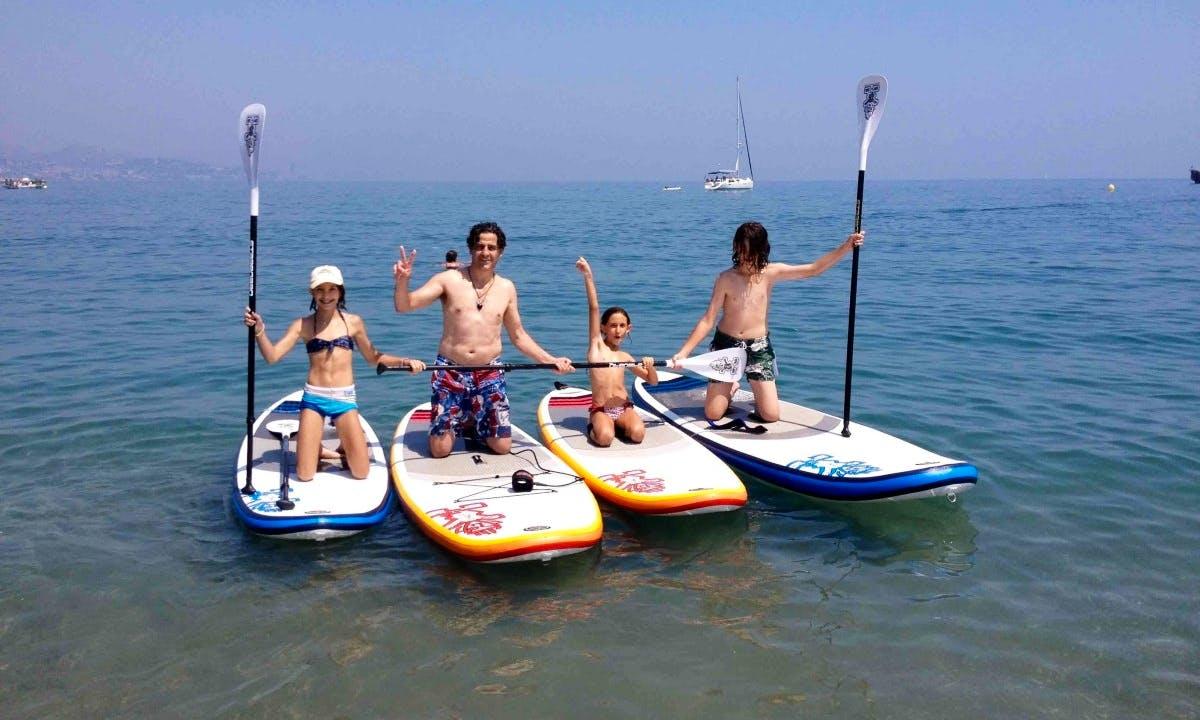 Enjoy SUP Adventures in Málaga, Spain