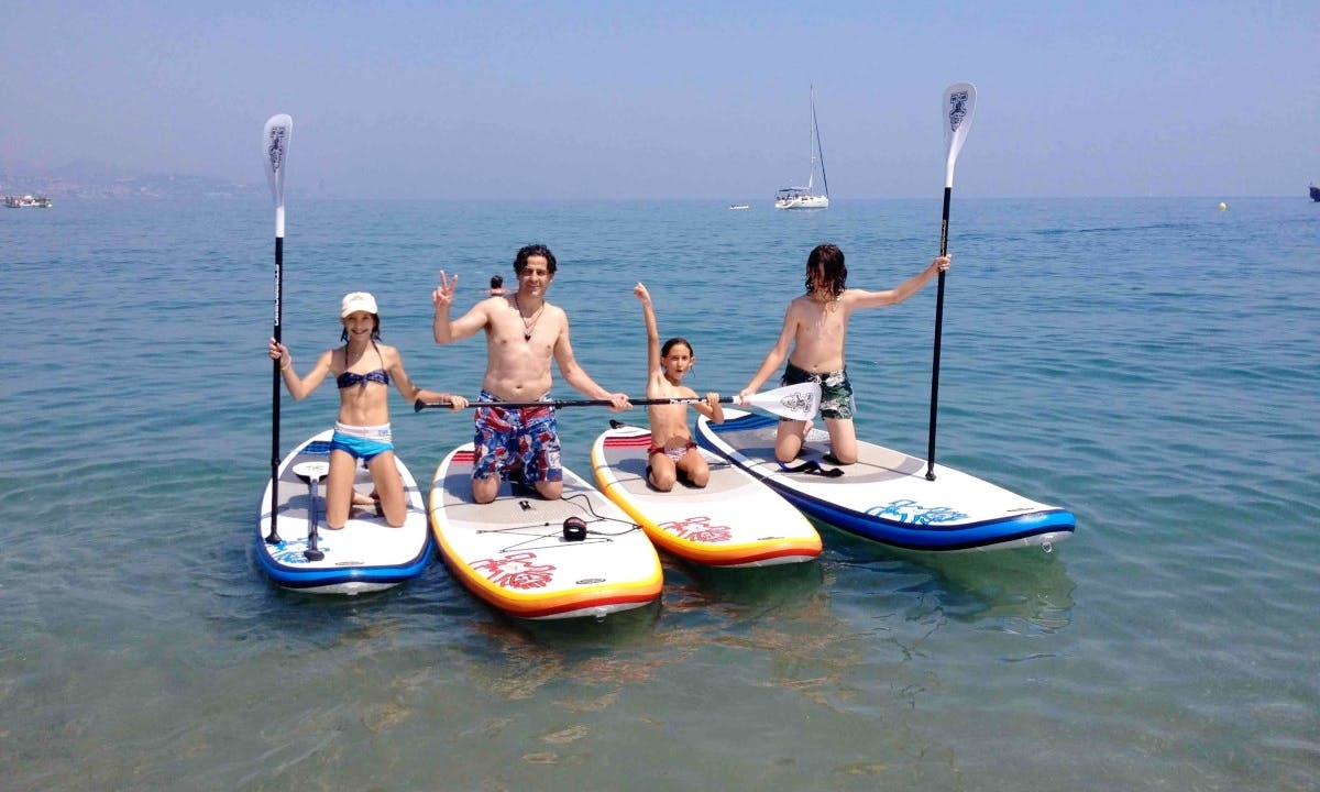 Enjoy SUP Adventures in Málaga, Spain