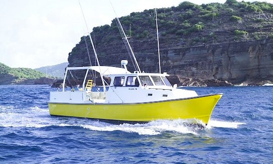 40' Sport Fishing Charter In St John's