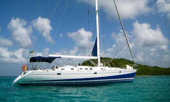 50' Beneteau Sailing Yacht In Bequia Island