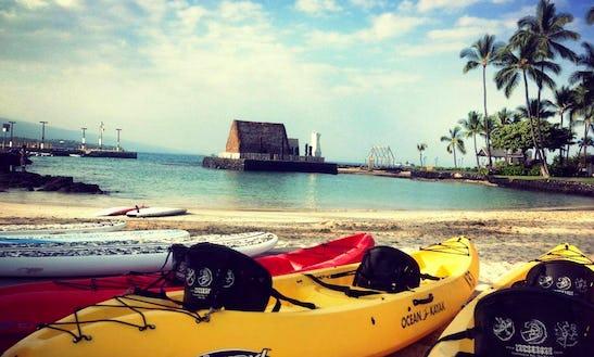 Double Kayak Rental In Kealakekua