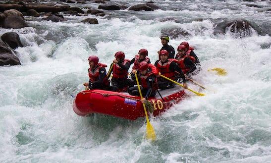 White Water Rafting Trips In Nahatlatch