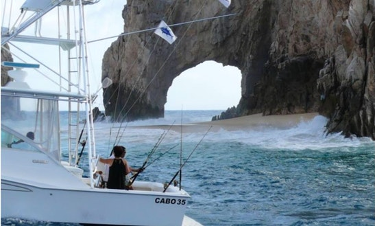 38ft Chris Craft Fishing Charter In Cabo San Lucas, Mexico