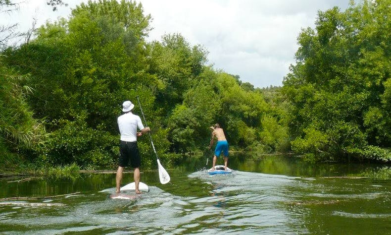 Stand Up Paddling Tours on the River Mira