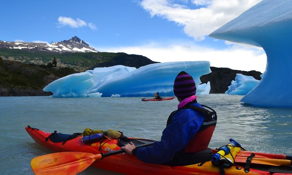 Kayak Torres Del Paine National Park