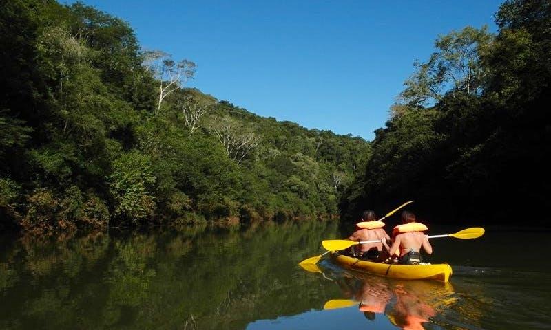 Tandem Kayak for Scenic River Trips in Moconá, Argentina