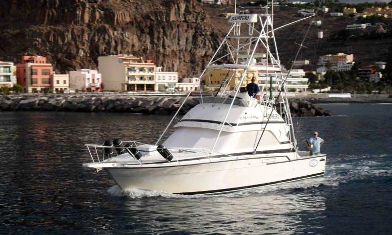 Fishing on The Bocinegro in San Sebastián de La Gomera