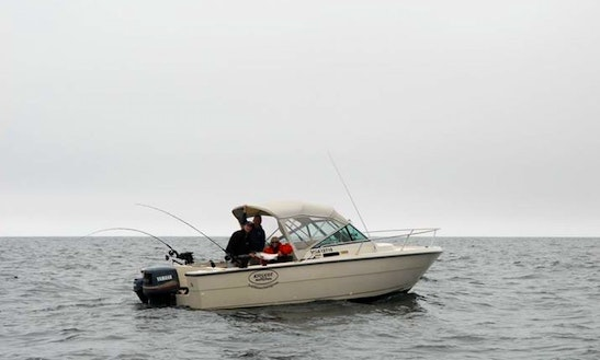 26' Guided Fishing Boat In Kyuquot Bc