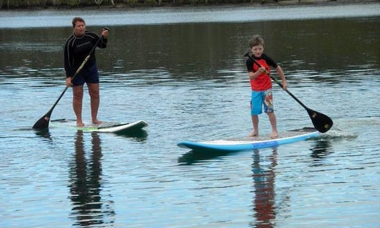 Sup And Surf Lesson In Gold Coast