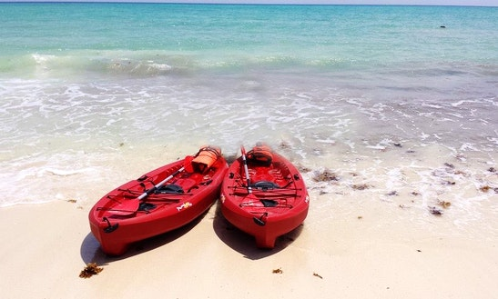 Double Kayak Rental In Playa Del Carmen
