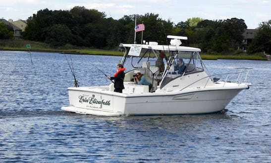Charter On 30ft Pursuit Offshore Sport Fisherman Boat In Point Pleasant, New Jersey