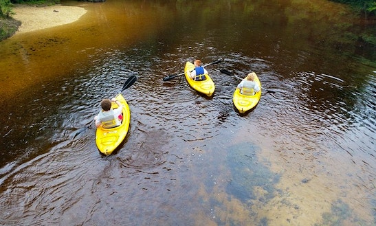 Kayak Rental & Trips In Berkeley Township
