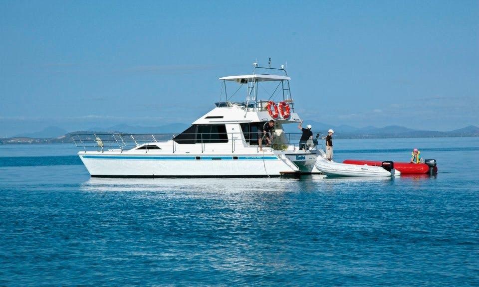 36' Power Catamaran Yacht In Rosslyn