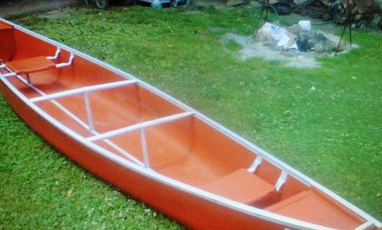 Two Seater Canoe For Rent In Lolo, Montana