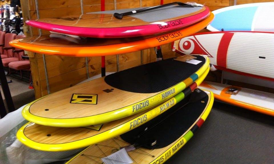 Kayaks & SUPs Rentals in Brandford
