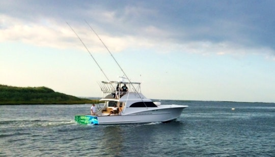 53ft Fishing Yacht Charter In Manasquan, New Jersey