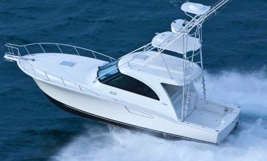 35' Cabo Express Fishing Chater In Sea Isle City, New Jersey With Captain Joe
