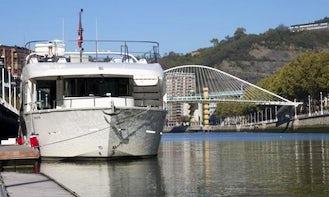 "Luxury ""Ibai Alai"" Passenger Boat Charter in Spain"