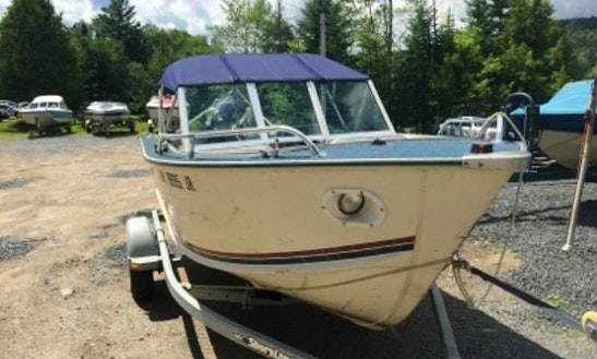 21' Aluminum Ski Boat In Eagle Bay