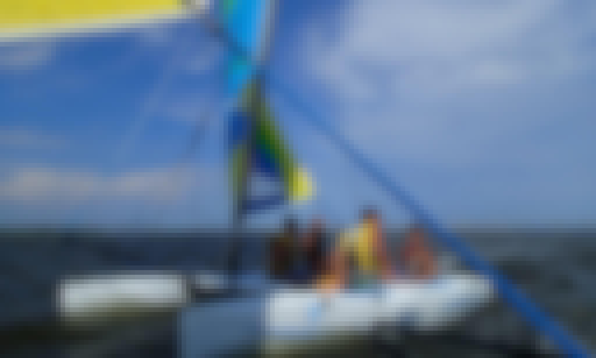 14ft Hobie Beach Catamaran Boat Rental in Ocean City, New Jersey