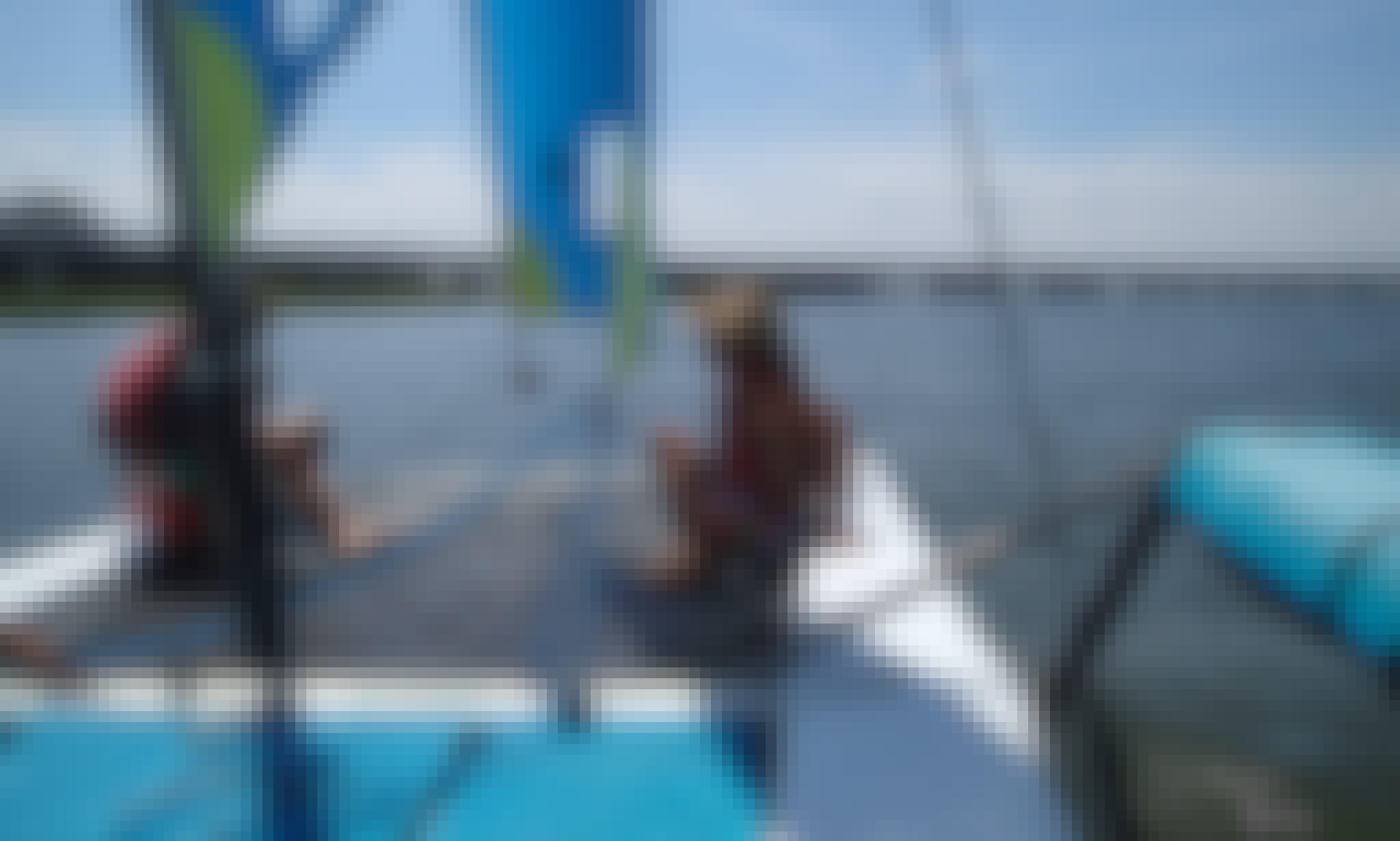 17ft Hobie Beach Catamaran Boat Rental in Ocean City, New Jersey