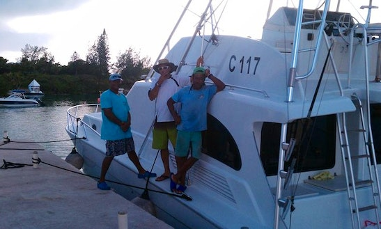 Bermuda Fishing Charter On 54ft