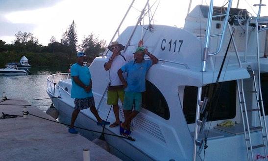 Bermuda Fishing Charter On 54ft