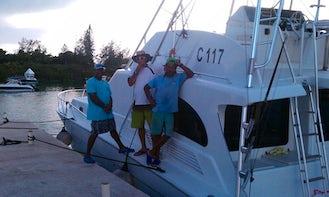 Fishing Charter on 54ft Luxury Fishing Yacht in Bermuda