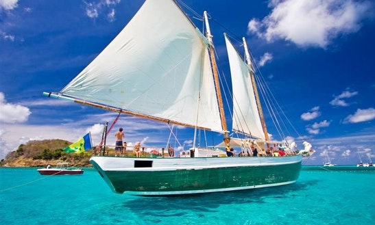 82' Gulet Charter In Clifton Union Island, St. Vincent And The Grenadines