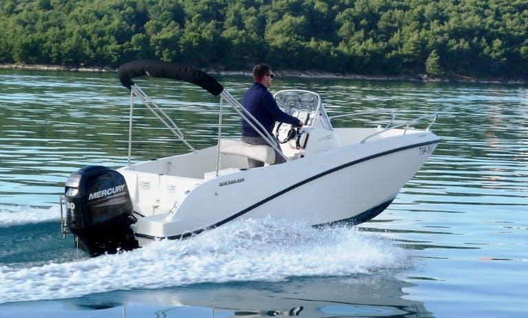 Quicksilver 505 Activ rent a boat Split, Trogir