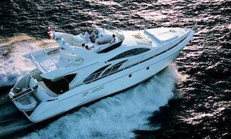 Charter Azimut 50 Flybridge Yacht In Slovenia