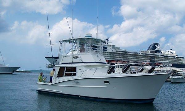 "42ft ""Natasha"" Avenger Fishing Boat Charter In Oranjestad, Aruba"