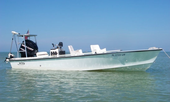 Enjoy 20 Ft Willy Roberts Classic Fishing Charter In Naples, Florida