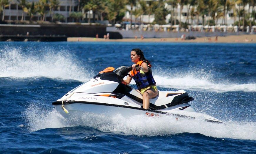 Jet Ski Rental in Playa Chica, Puerto del Carmen