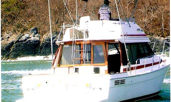 "33ft Sport Fisherman ""Dia Perfecto"" Fishing Charter in Ixtapa Zihuatanejo, Mexico"