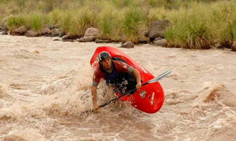 Single Kayak Rafting Trips in Mendoza, Argentina