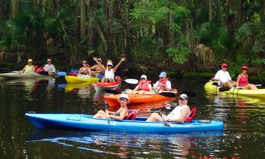 Tandem Kayak Rentals On Spruce Creek