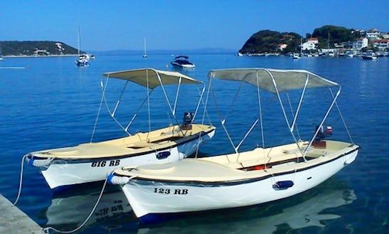 16' Elan 490 Jon Boat Charter In Kampor, Croatia