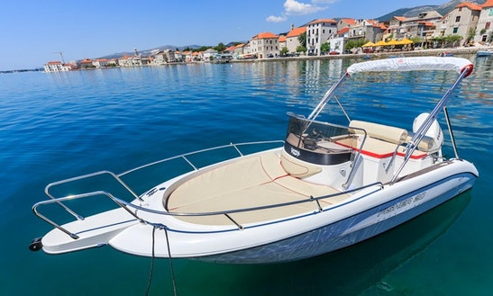 Fisher-20 Boat Charter In Trogir, Croatia