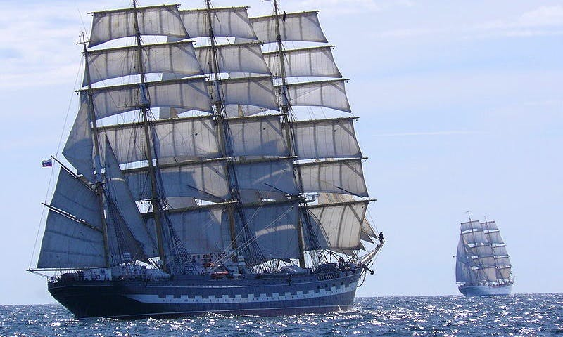 KRUZENSHTERN Wind Jammer Cruises worldwide