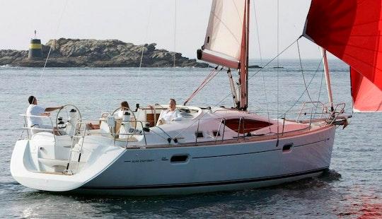 Sun Odyssey-35 Sailboat Charter In Angra Dos Reis, Rj