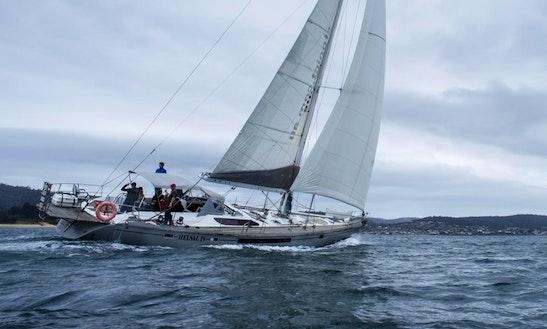 Helsal Iv Sailing Yacht Charter In Tasmania